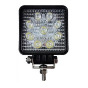 "WL1600-SL 3.5"" x 3.5"", 27W, 1600Lm output, 9LEDs Long Beam Work Light"