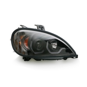 TR202-PFRHL-R Projector Passenger Side Headlight with LED Bar for 1996-2017 Freightliner Columbia Trucks