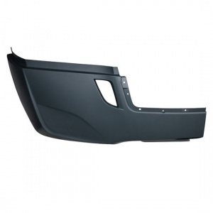 TR443-FRSB-R Passenger Side Outer Bumper Cover without Fog Light Hole for 2018+ Freightliner Cascadia