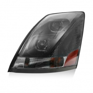 TR203-PVLHL-L Driver Side Projector Headlight with LED Bar for Volvo VN/VNL Trucks