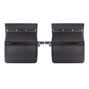TRQF311 Black Poly Quarter Fenders 24