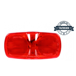 TR56124 LED, Red Rectangular, 16 Diode, Marker Clearance Light (Made in Taiwan)