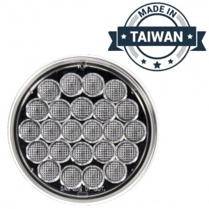 TR56131  LED, Clear Round, 24 Diode, Back-Up Light (Made in Taiwan)