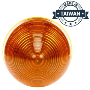 TR56137 LED, Yellow Beehive, 13 Diode, Marker Clearance Light (Made in Taiwan)