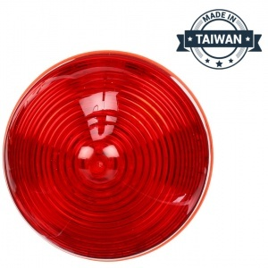 TR56138 LED, Red Beehive, 13 Diode, Marker Clearance Light (Made in Taiwan)