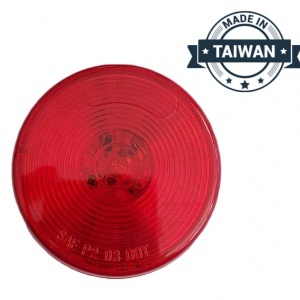 TR56144 LED, Red Round, 13 Diode, Marker Clearance Light (Made in Taiwan)