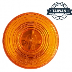 TR56147 Incandescent, Yellow Round, 1 Bulb, Marker Clearance Light  (Made in Taiwan)