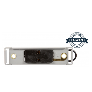 TR56149 Bracket Mount, Used In Rectangular Shape Lights, Gray Polycarbonate, 2 Screw Bracket Mount, Hardwired, Stripped End, Kit (Made in Taiwan)