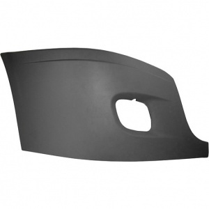 TR071-FRCBC-R Outer Cover with Foglight Hole for Freightliner Cascadia Bumper - Passenger Side