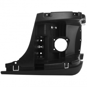 TR072-FRIB-L Inner Bumper Support with Fog Light Hole for Freightliner Cascadia - Driver Side